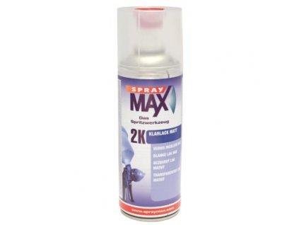 Sprej MAX 2K Bezfarebný dvojzložkový lak 400 ml matný 680 065