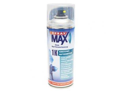 Sprej MAX 1K Základ na plasty bezfarebný 400 ml 680 009