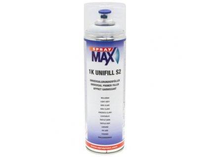 Sprej MAX 1K UNIFILL S2 plnič univerzálny základový 500 ml  šedý svetlý 680 410