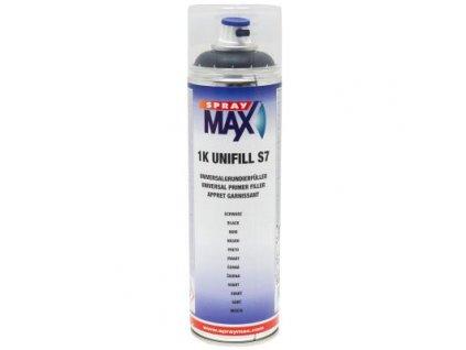 Sprej MAX 1K UNIFILL S7 plnič univerzálny základový 500 ml čierny 680 413