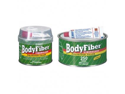 BODY Fiber 2K polyesterový tmel so sklenným vláknom 1,5kg zelený
