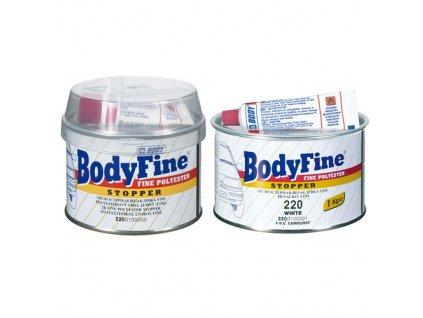 BODY Fine 2K polyesterový jemný tmel biely 250g