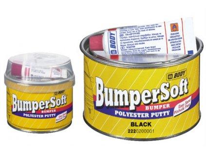 BODY Bumper Soft 2K polyesterový tmel čierny na plast. povrchy 1kg