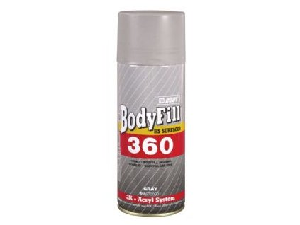 BODYFill 360 Spray 2K plniaci tmel šedý 400ml