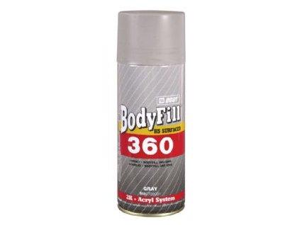 BODYFill 360 Spray 2K plniaci tmel čierny 400 ml