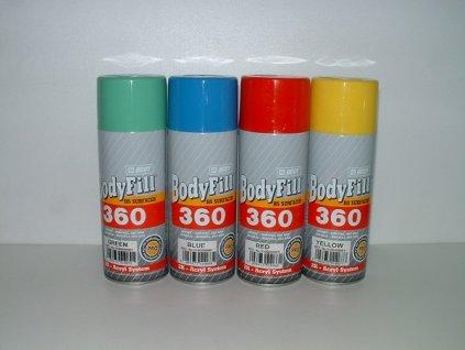 BODYFill 360 Spray 2K plniaci tmel zelený 400ml