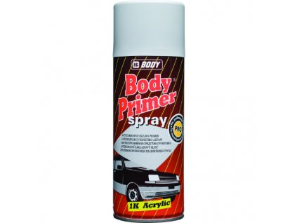 BODY Primer Spray 1K acrylic plniaci tmel šedý 400ml