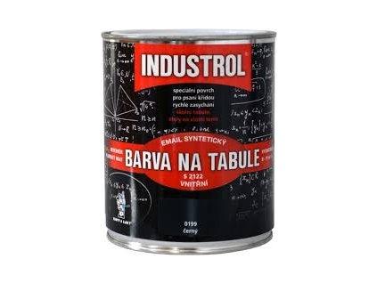 INDUSTROL farba na tabule S 2122 0199 0.6L čierna
