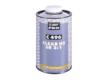 BODY Autoclear 496 2:1 bezfarebný lak 1l