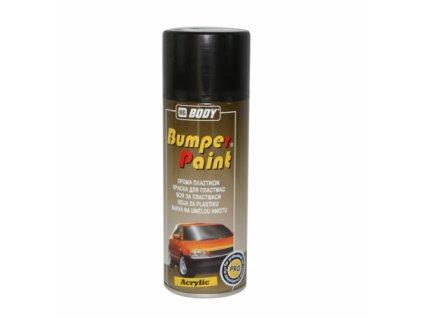 BODY Bumper paint SPRAY saténová čierna farba na plast 400ml