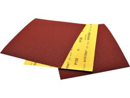 Brúsny papier ALOX rada 275 k brúseniu za mokra aj za sucha hárok 230mm x 280 mm