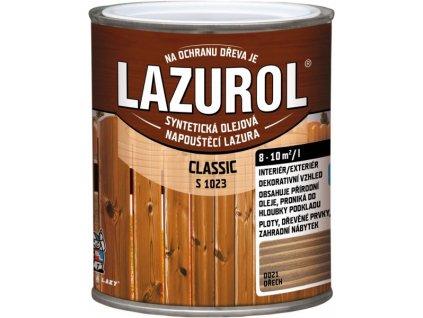 LAZUROL Classic tenkovrstvá 0,75l podla vzorkovníka