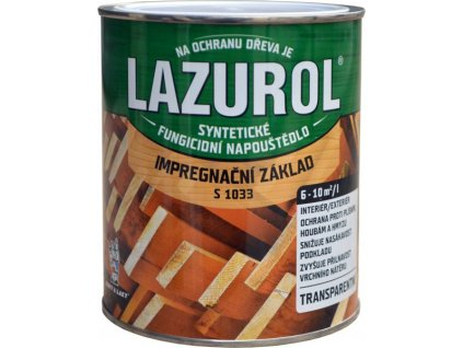 LAZUROL Základná impregnácia 2,5L S1033
