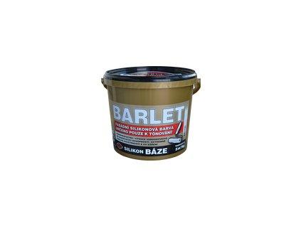 BARLET silikónová fasádna farba 10kg V4018 biela
