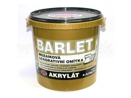 BARLET zateplovacia omietka akrylát hladená-zrnitá 25kg mix color
