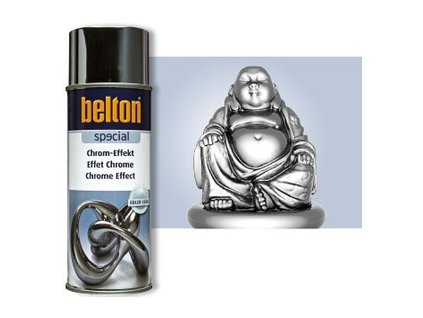 BELTON Special Chrom efekt sprej 400ml strieborný