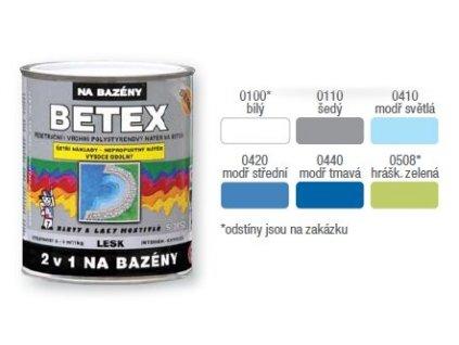 Betex 2/1 na bazény S2852 0440 1kg tmavo modra