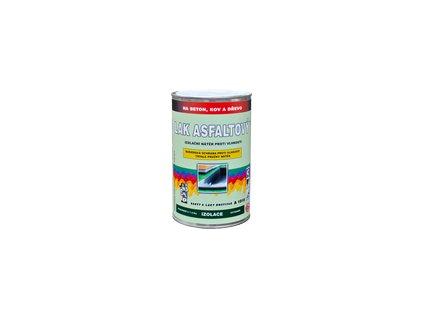 Asfaltový lak proti vlhkosti A1010 1kg hydroizolačný