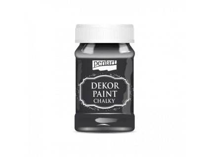 dekor paint soft 100 ml cierna