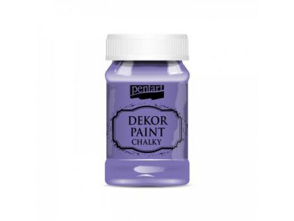 dekor paint soft 100 ml fialova