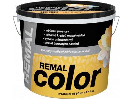 REMAL COLOR- natónovaná vnútorná farba 0.25 kg mix farieb NOVÝ