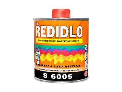 Riedidlo S 6005 syntetické riedidlo na jednovrstvové farby 0,7 L BAL