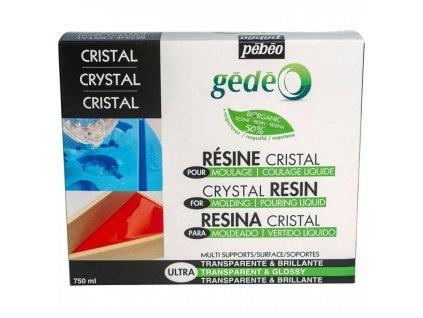 gedeo bio kristalova zivica 750 ml cira