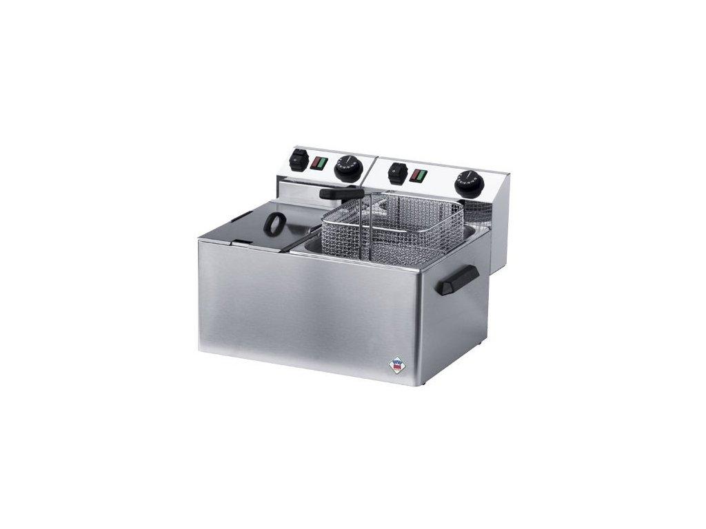 Fritéza elektrická dvojitá 4 + 7 litrů, FE - 74 - profi