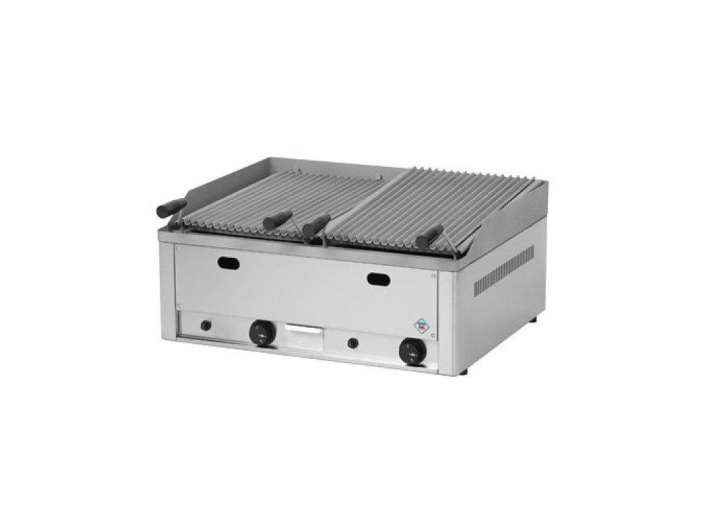 Plynový lávový gril dvojitý GL-60GS