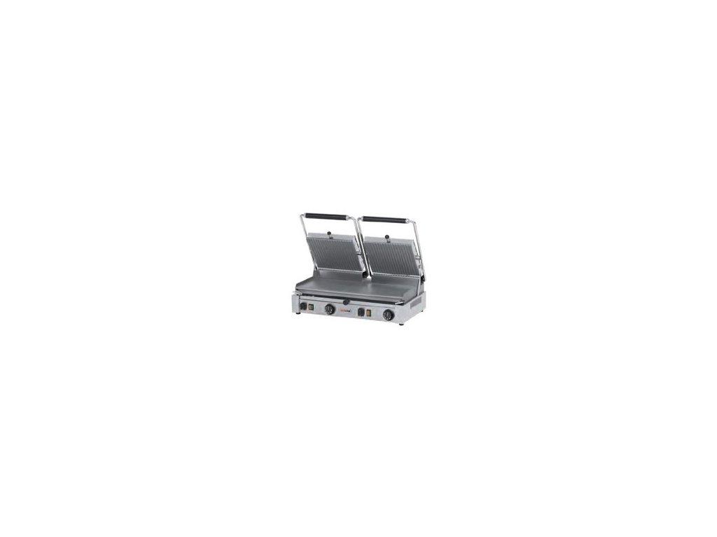 Kontaktní gril PD-2020 R - rýhovaný