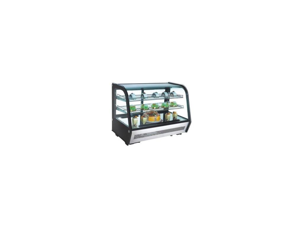 Chladící vitrína pultová, ventilovaná RTW 160 NORDline