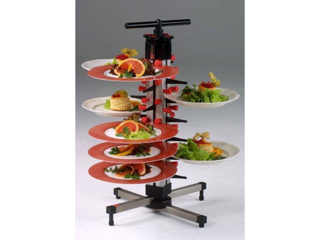 Stolní stojan na 24 talířů TM 24 - PLATE MATE - držák na talíře