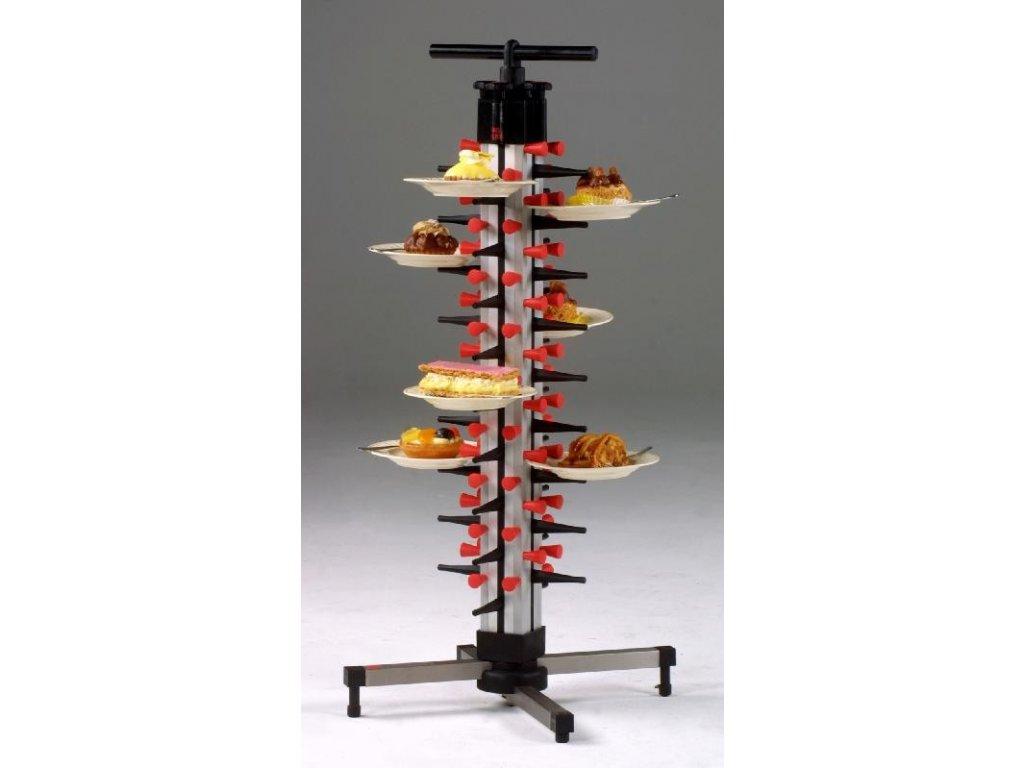 Stolní stojan na 36 talířů TM 36 - PLATE MATE - držák na talíře