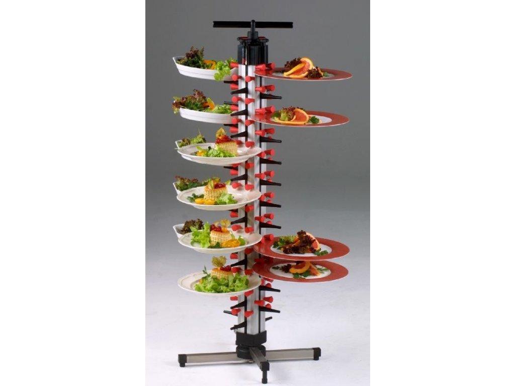 Stolní stojan na 48 talířů TM 48 - PLATE MATE - držák na talíře