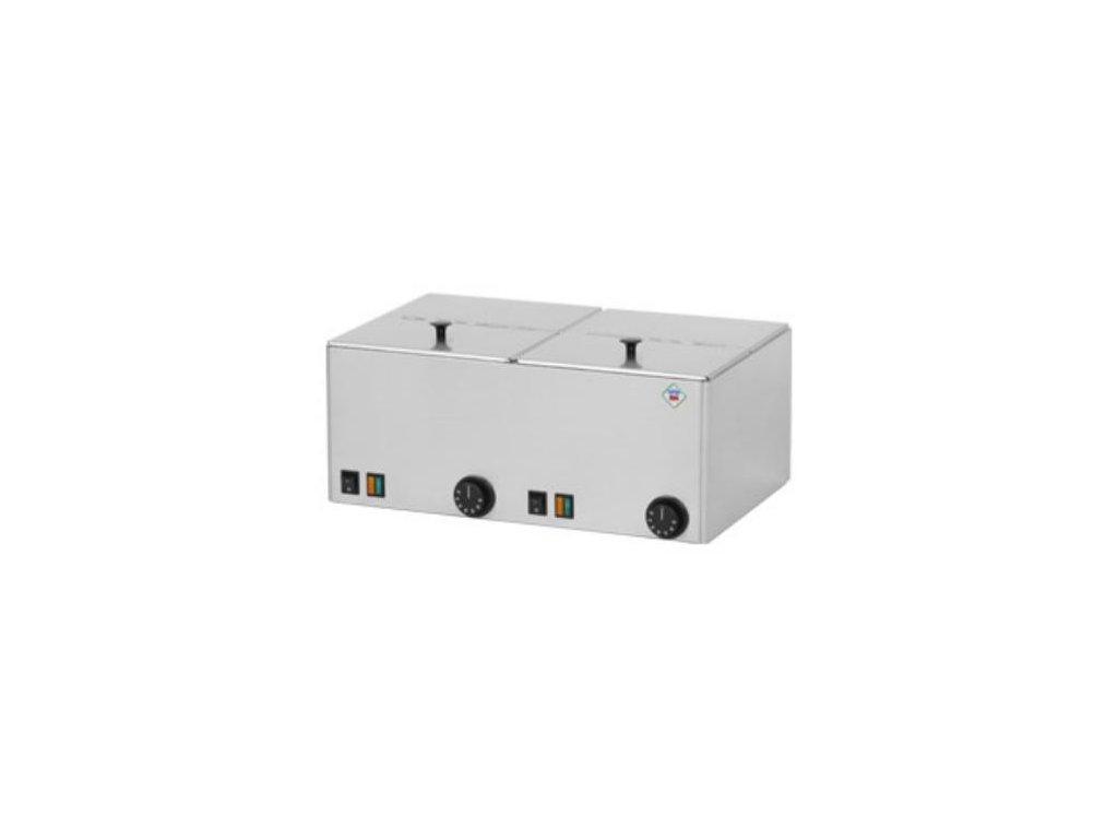 Ohřívač párků dvojitý 2x GN1/2 WE11