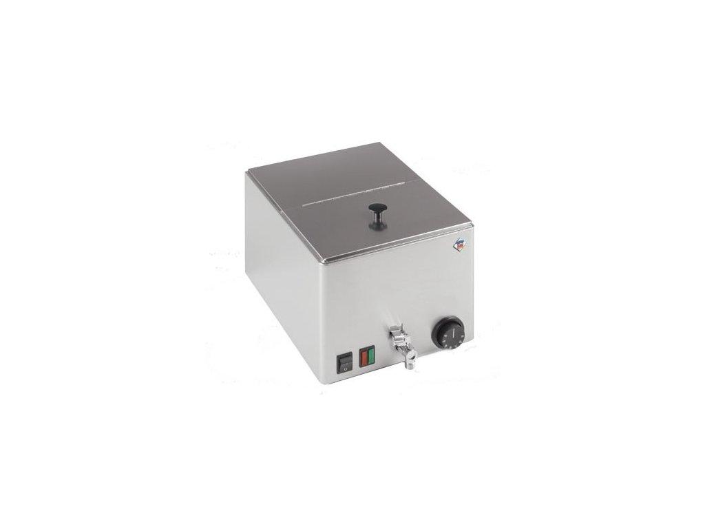 Ohřívač párků GN1/2 s výpustí WEV 12