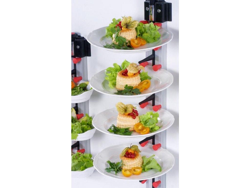 Nástěnný držák na 12 talířů WM 12 - PLATE MATE - držák na talíře