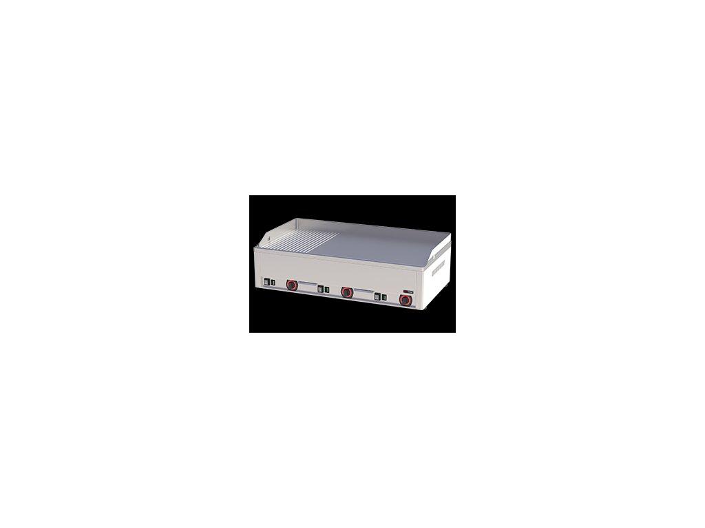 Grilovací deska kombinovaná elektrická chrom FTHRC 90 E
