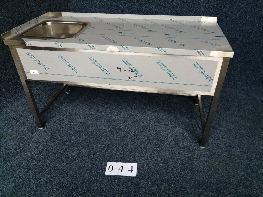 Pracovní stůl s dřezem vlevo,  rozměr 1600x700x900 NOVÝ
