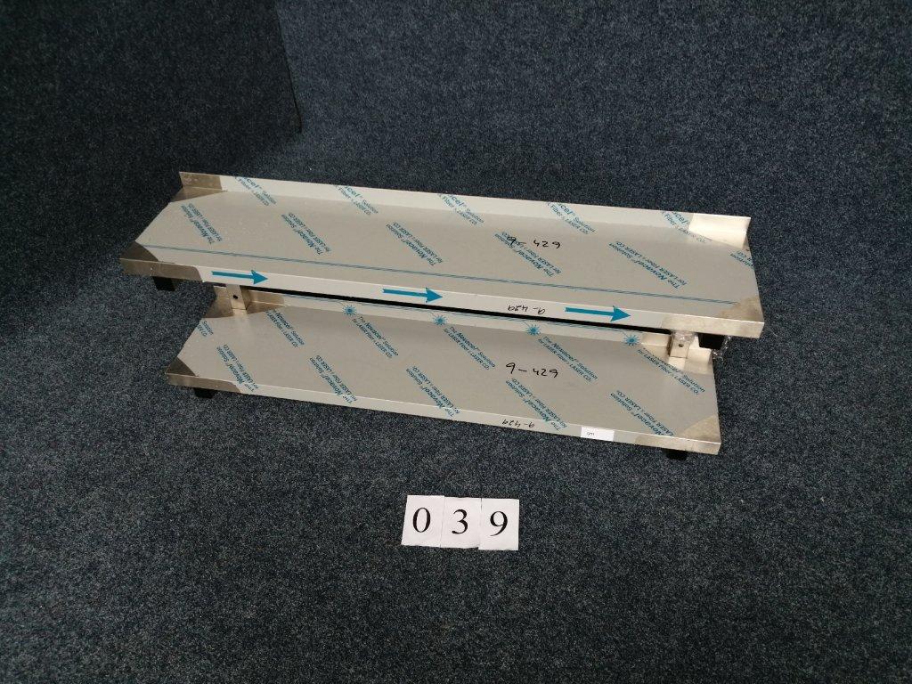 Dvojitá police nepřestavitelná rozměr 1300x300x420mm NOVÁ