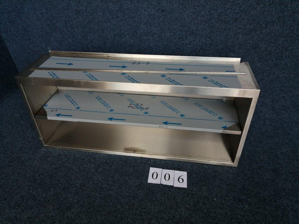 Nástěnná skříňka otevřená, s policí, rozměr 1400x350x600mm výška NOVÁ