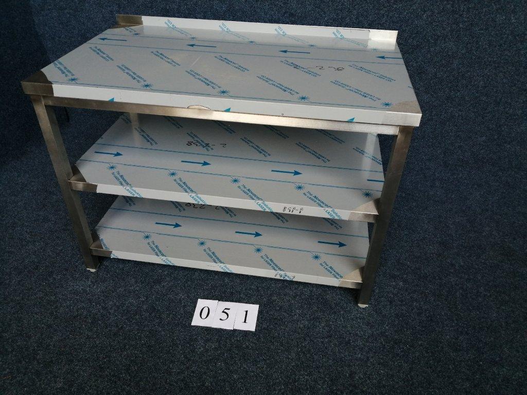 Pracovní stůl, dvě police ,rozměr 1200x700x850mm výška NOVÝ