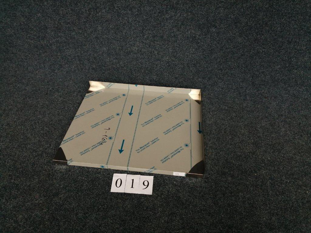 Pracovní deska s levým a pravým lemem, rozměr 930x800x40mm NOVÁ