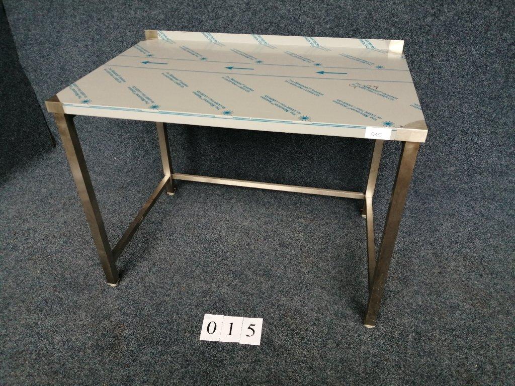 Pracovní stůl s trnoží, zadní lem, rozměr 1200x800x900mm výška NOVÝ