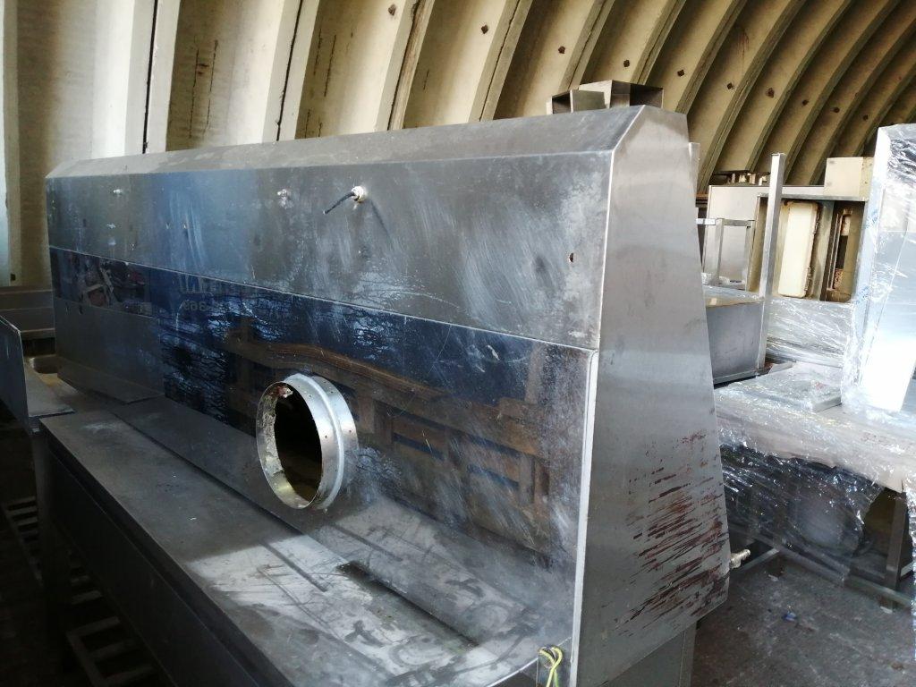 Nástěnná digestoř, rozměr 2450x800x450mm