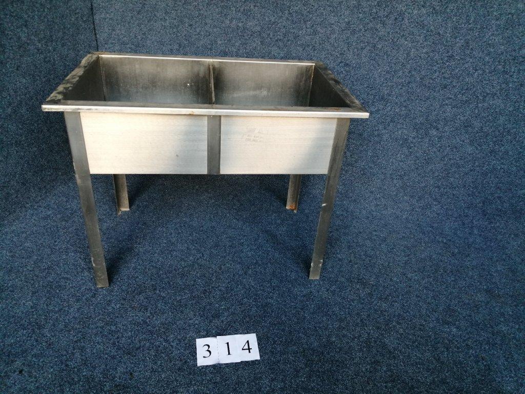 Dvoudřez svařovaný, rozměr 1100x700x860mm