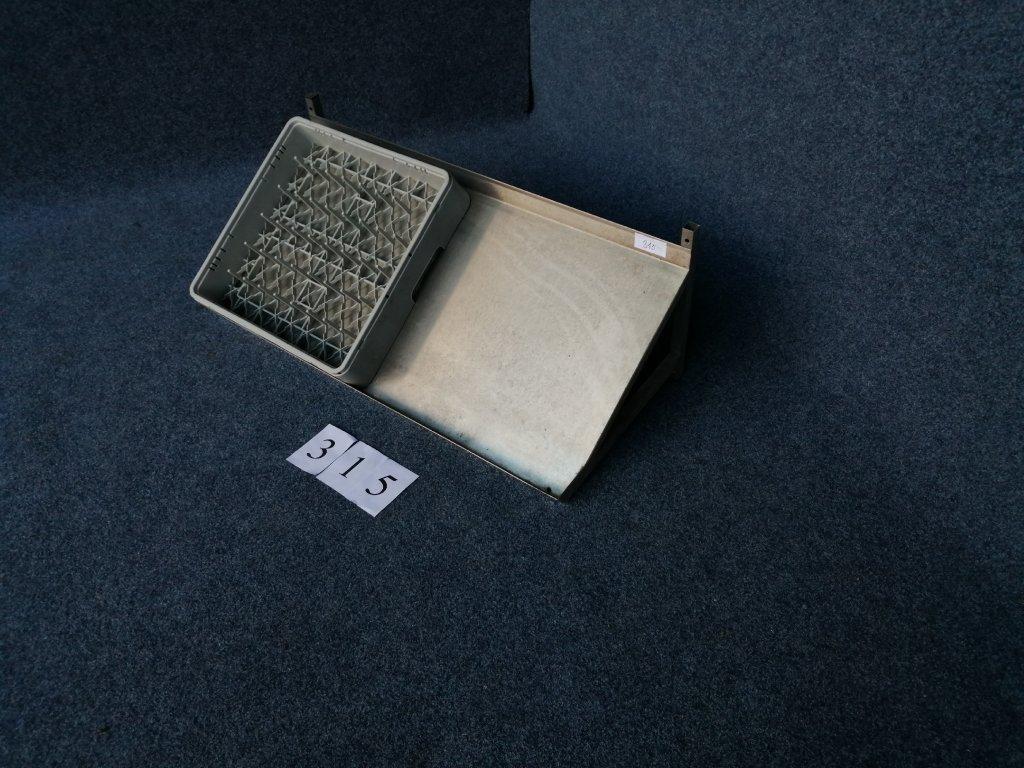 Police pro 2 mycí koše, rozměr 1040x510x360mm