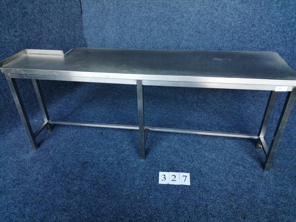 Nerez stůl s trnoží, rozměr 2105x580x810mm