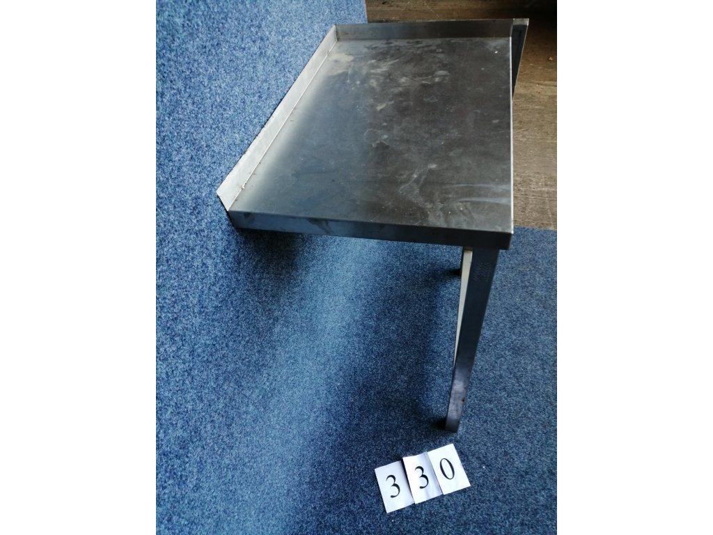 Nerezový stůl, dvě nohy rozměr 470x700x900mm