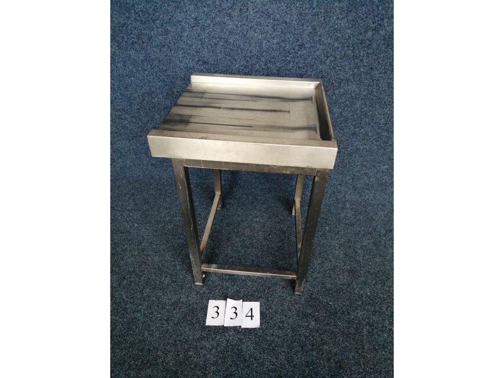 Výstupní stůl z myčky rozměr 600x600x850mm